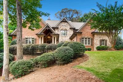 Roswell, Sandy Springs Single Family Home For Sale: 4780 Merlendale
