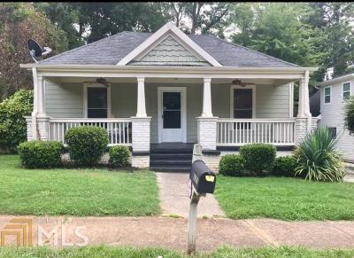 College Park Single Family Home For Sale: 1960 Cambridge Ave