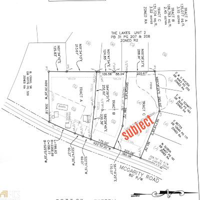 McDonough Residential Lots & Land New: McGarity Rd #C