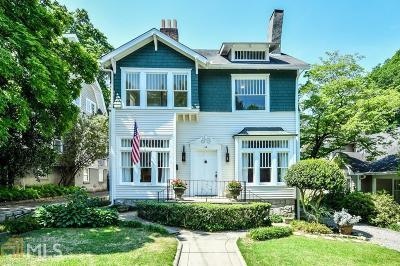 Ansley Park Single Family Home For Sale: 64 The Prado