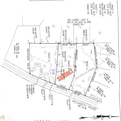 McDonough Residential Lots & Land New: McGarity Rd #B