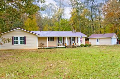 Carrollton Single Family Home Under Contract: 121 Roy North Rd