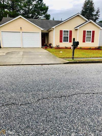 Lithonia Single Family Home New: 2845 Rambling Way