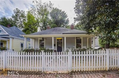 Grant Park Single Family Home Under Contract: 411 Glenwood Ave