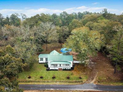 Milledgeville Single Family Home Under Contract: 121 Cullen Wood Rd