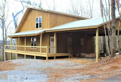 Rabun County Single Family Home Under Contract: Clear Vw Trl