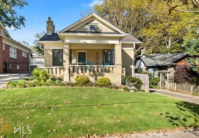 Kirkwood Single Family Home Under Contract: 2206 Hosea L Williams Dr