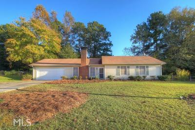 Conyers Single Family Home New: 477 Valley Woods Cir