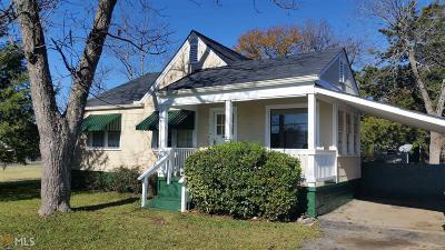 Barnesville Single Family Home New: 208 Taylor