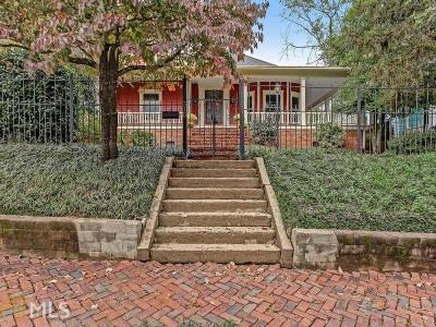 Grant Park Single Family Home Under Contract: 316 Augusta Ave