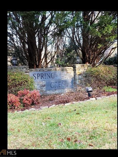 Cleveland Residential Lots & Land For Sale: Spring Crest #Lot 2