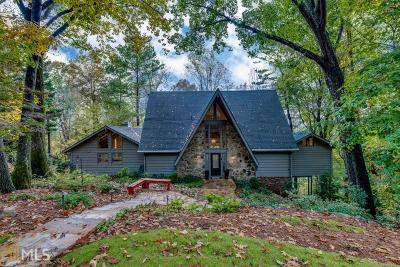 Sandy Springs Single Family Home Under Contract: 160 Huntcliff Pt