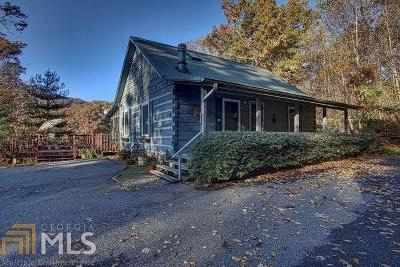 Hiawassee Single Family Home Under Contract: 8378 Charlies Creek Rd