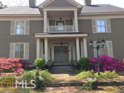 Senoia Single Family Home New: 203 Morgan St