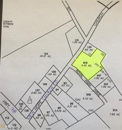 Monroe Residential Lots & Land New: Royal Park Dr