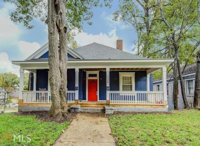 West End Single Family Home Under Contract: 528 Holderness St