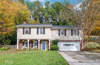 Marietta Single Family Home Under Contract: 329 Chapman Dr