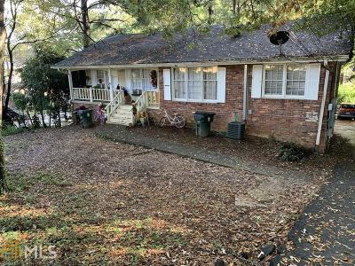 Dekalb County Multi Family Home Under Contract: 2195 Dresden Dr