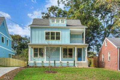 Atlanta Single Family Home New: 215 S Howard St