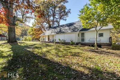 Blairsville Single Family Home Under Contract: 108 Ed Mauney Dr