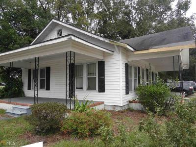 Statesboro Single Family Home For Sale: 123 W Rountree St