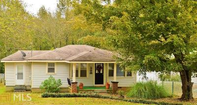 Banks County Single Family Home Under Contract: 54 Homer St