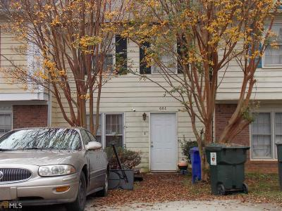 Conyers GA Condo/Townhouse New: $68,000