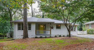 Decatur Single Family Home New: 3422 Wren Rd