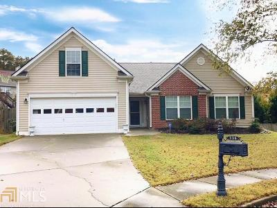 Dacula Single Family Home New: 336 Reliance