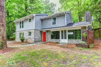 Atlanta Single Family Home New: 2162 Brookview Dr