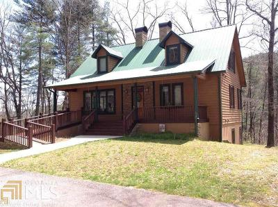 Rabun County Single Family Home New: 6635 Warwoman Rd