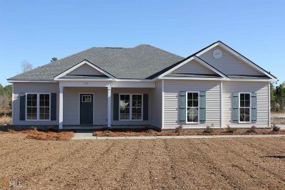 Statesboro Single Family Home New: 135 Chatham Way
