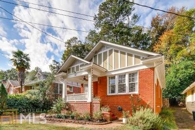 Decatur Single Family Home New: 152 Ponce De Leon Ct