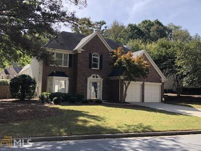 Johns Creek Single Family Home Under Contract: 6400 Stapleford Ln