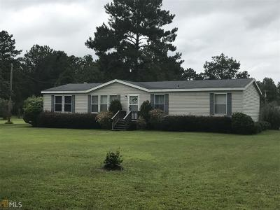 Statesboro Single Family Home New: 186 Robins Rd