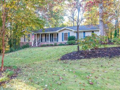 Roswell Single Family Home Under Contract: 4562 NE Woodland Cir
