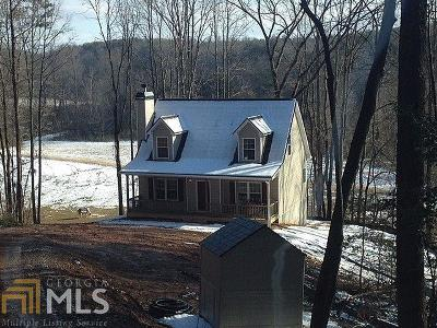 Dahlonega Single Family Home Under Contract: 68 Hemlock Trl