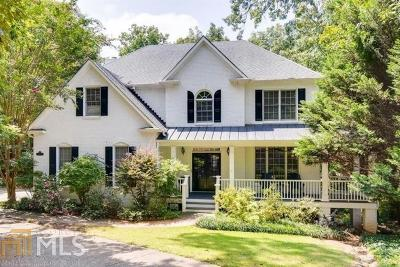 Alpharetta Single Family Home Under Contract: 12185 Stevens Creek Dr