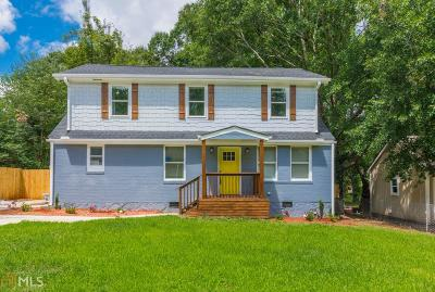 Decatur Single Family Home New: 1963 Don Juan