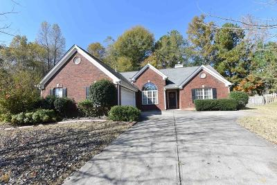 Buford Single Family Home Under Contract: 3480 Rivers End Pl #1