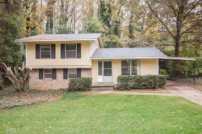 Tucker Single Family Home Under Contract: 3779 Mary Anna Dr