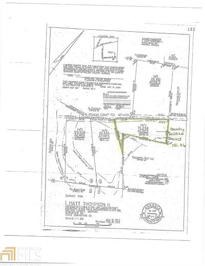 Monroe Residential Lots & Land New: Frank Camp Rd #Tract 3