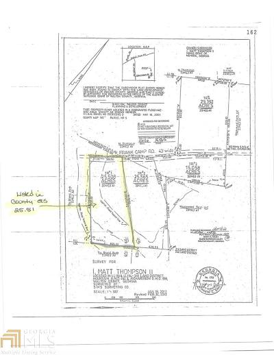 Monroe Residential Lots & Land New: Frank Camp Rd #Tract 1