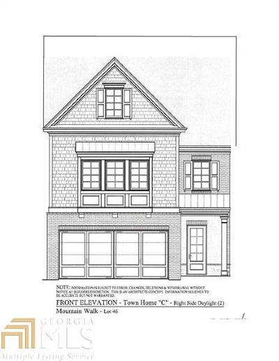 Marietta Condo/Townhouse Under Contract: 1236 Hightower Xing