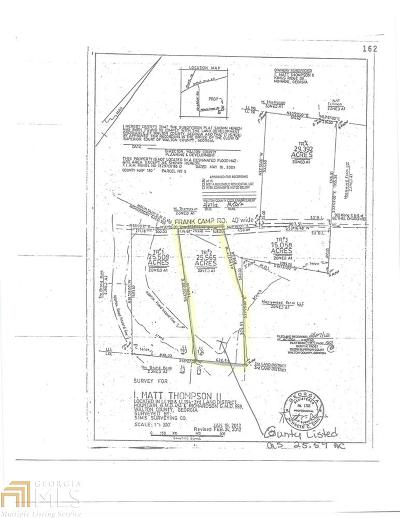 Monroe Residential Lots & Land New: Frank Camp Rd #Tract 2