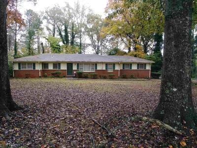 Ellenwood Single Family Home New: 4136 Weelaunee Rd