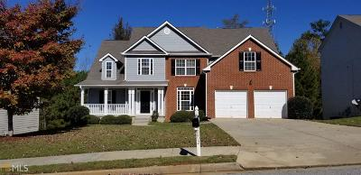 Fairburn Single Family Home New: 6692 Delaware