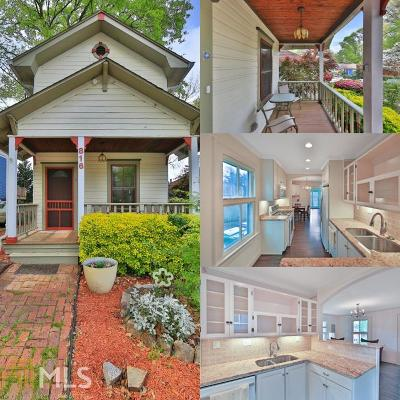 Atlanta Single Family Home New: 816 Virgil St