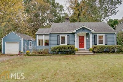 Avondale Estates Single Family Home Under Contract: 3195 Kensington