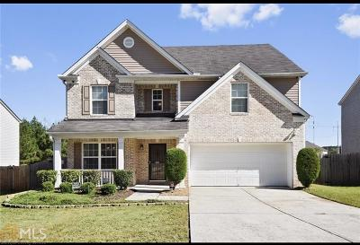 Fairburn Single Family Home Under Contract: 7392 Walton